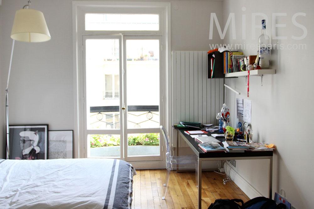 Chambre d tudiant c1329 mires paris for Chambre d etudiant