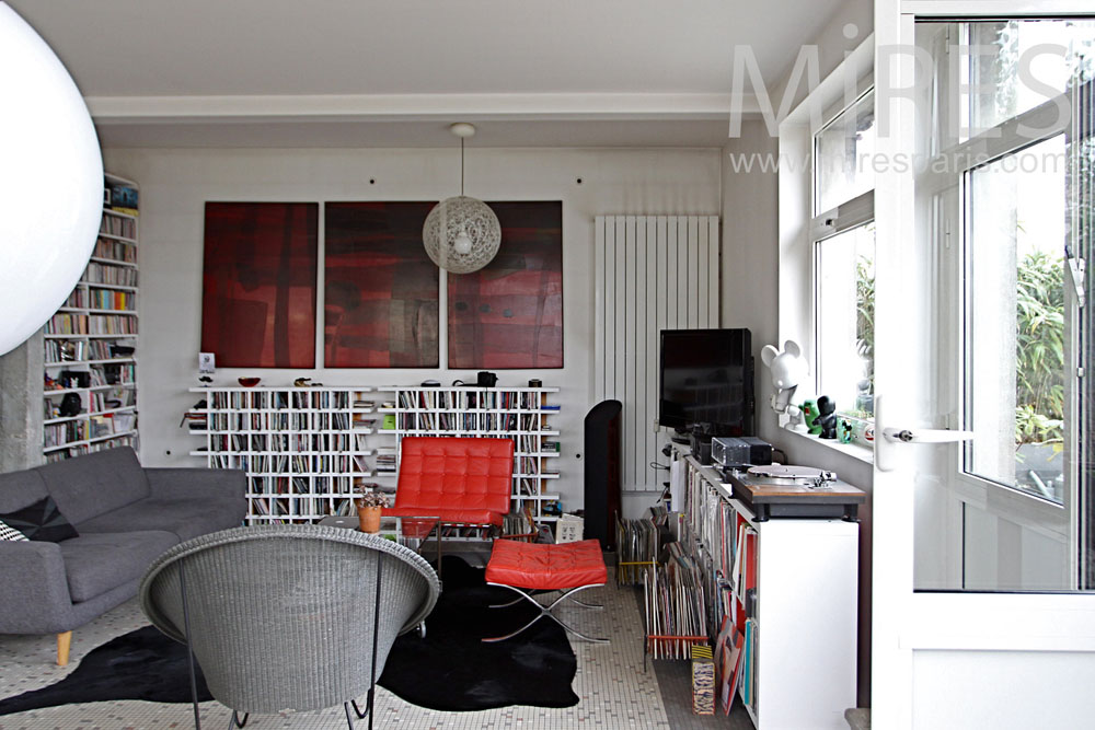 Zen deco lounge. C1335