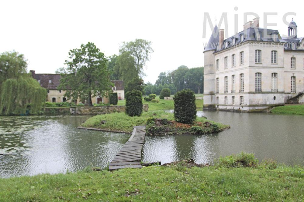 Autour du château. C1337