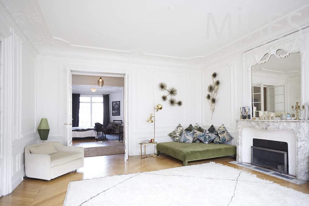 Elegant haussmanian apartment. c1345