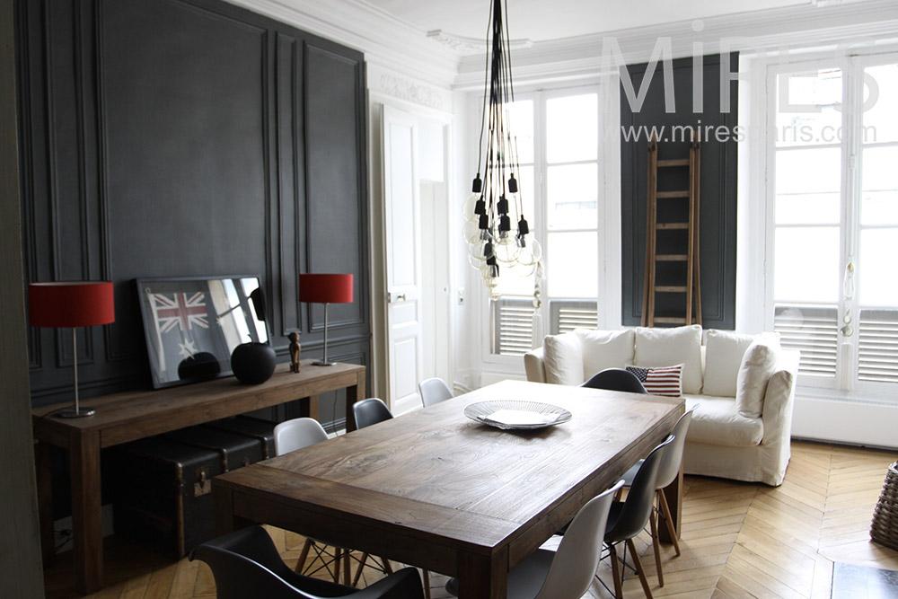 Appartement confortable, décoration soignée. C1354