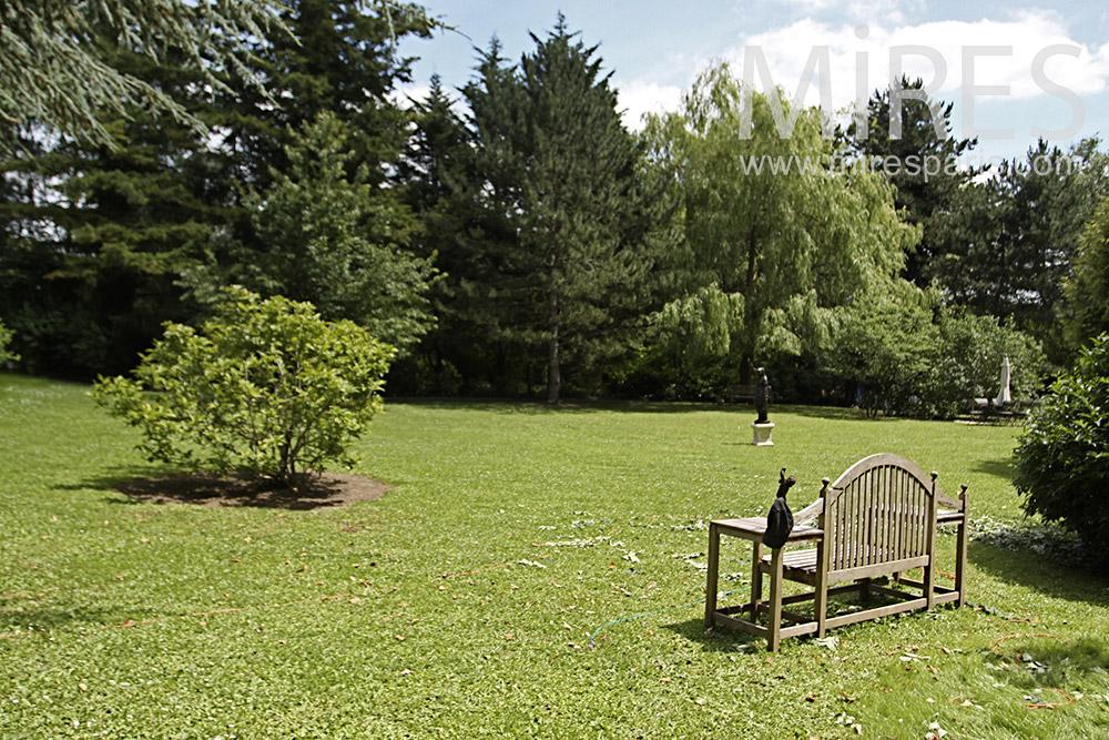 Jardin romantique. C1355