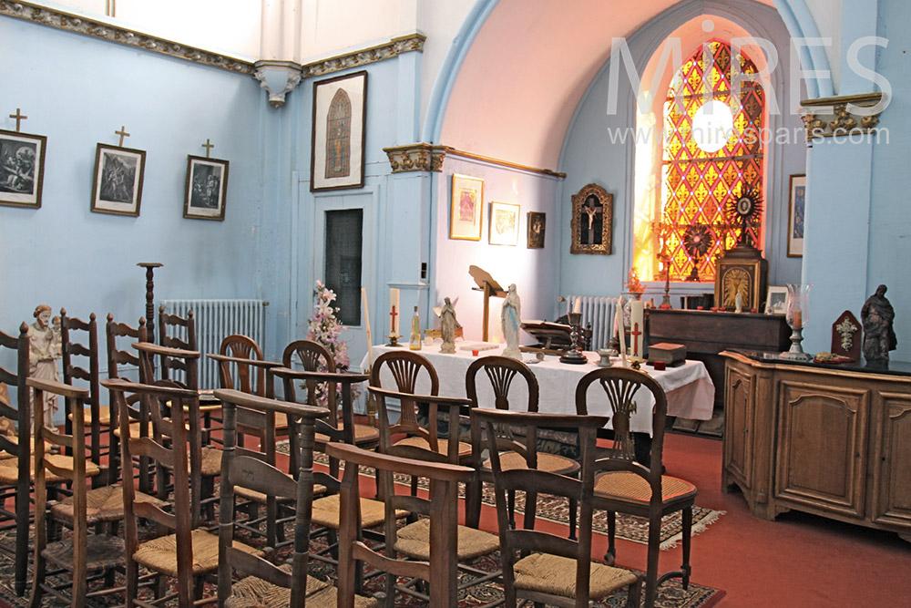 Chapelle de château. C1363