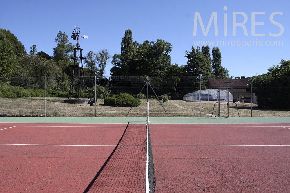 Tennis et couleurs. C1363