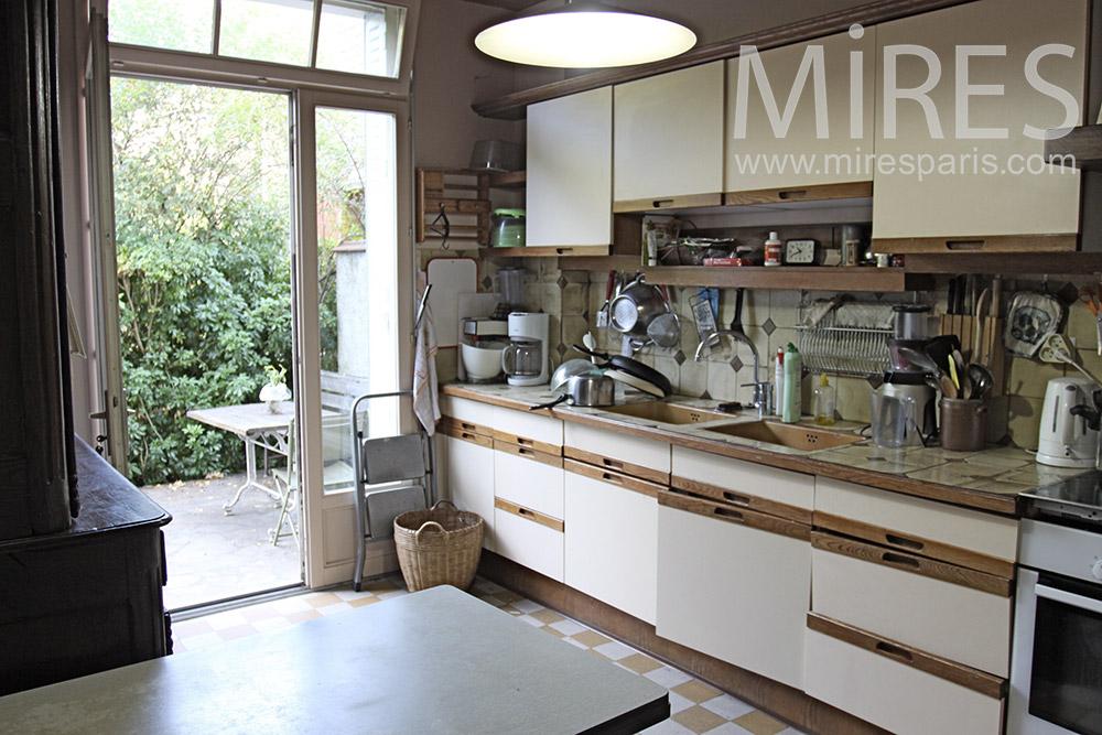 La cuisine du jardin. C1367