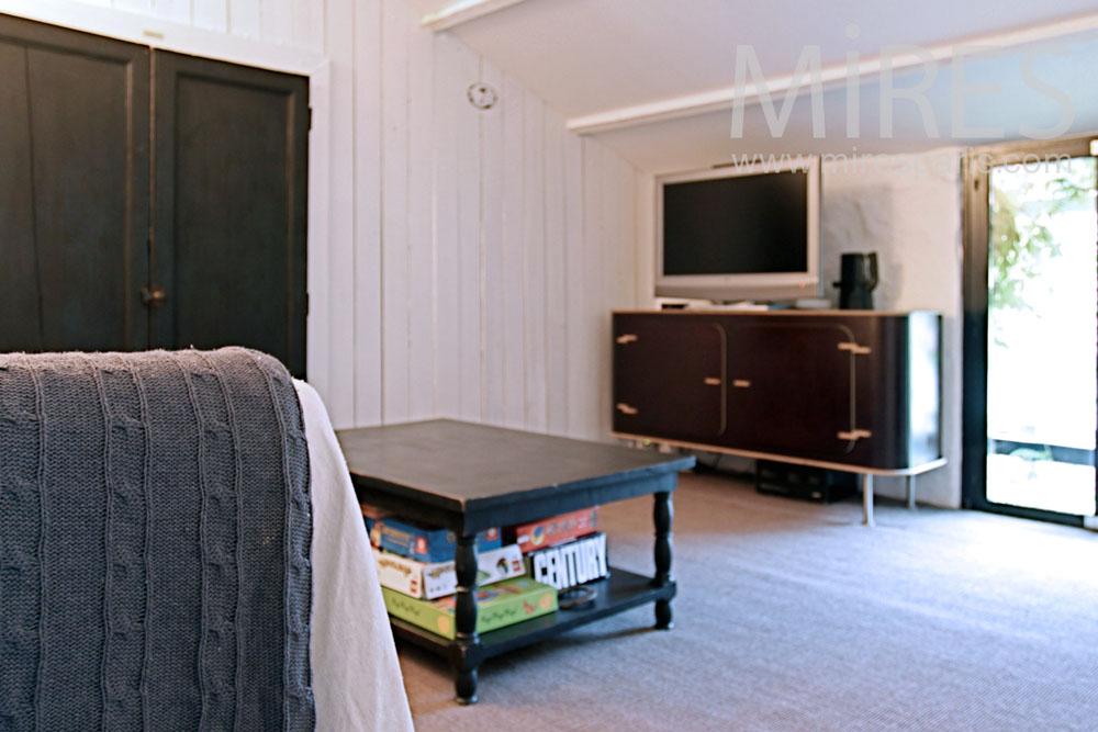 Petit salon à l'étage. C1369