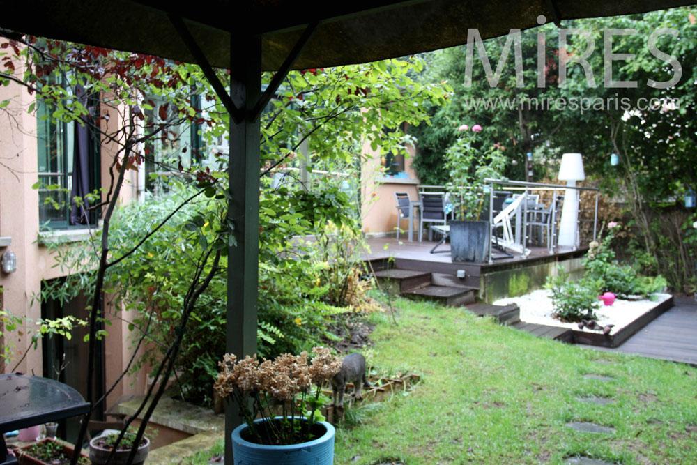 Aménagements de jardin. C1362