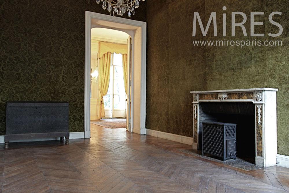 Salon avec cheminée. C1379