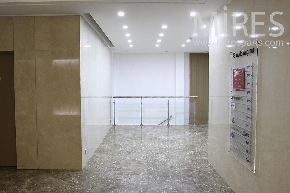 Marbled entrance. C1400