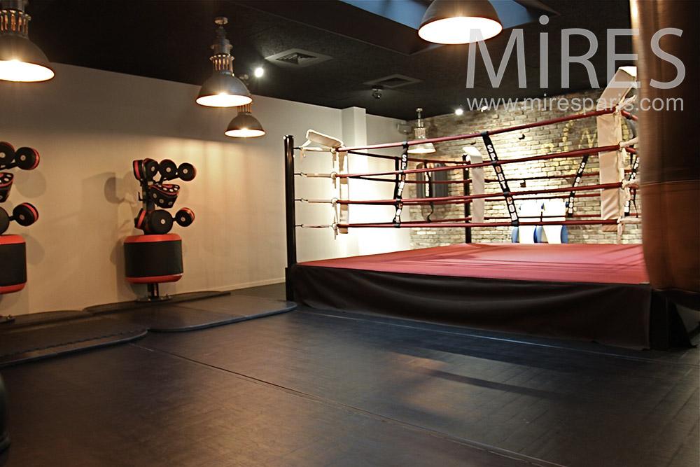 Salle de boxe moderne. C1400