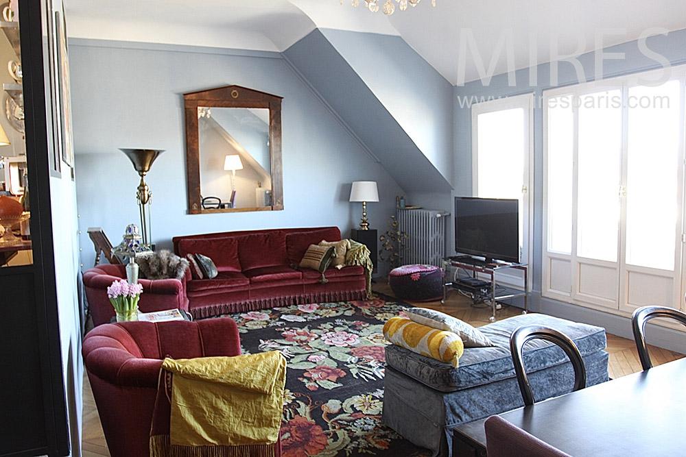 Confortable appartement parisien. C1406