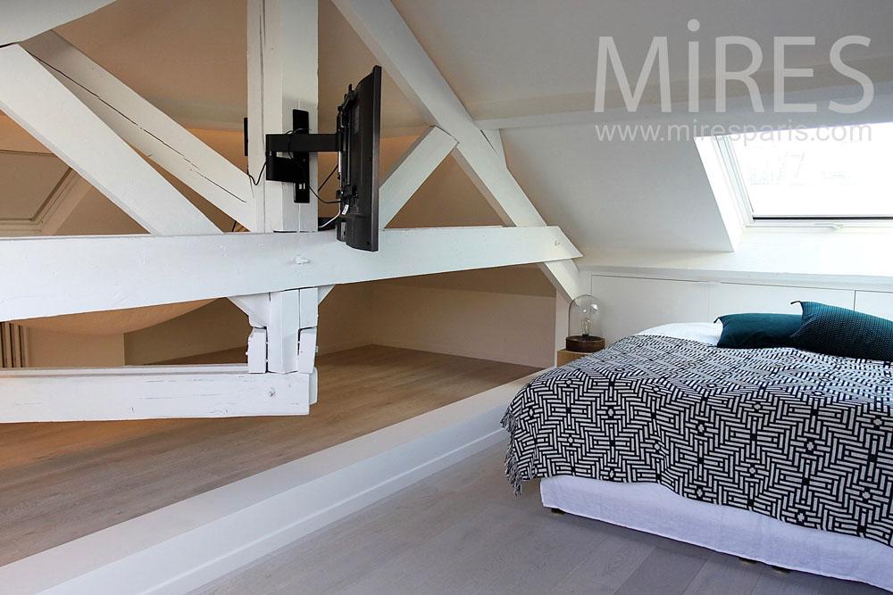 Chambre à coucher structurelle. C1407