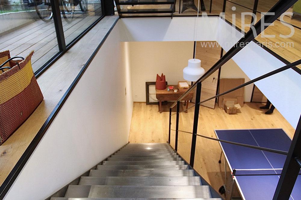 salle de jeux au sous sol c1420 mires paris. Black Bedroom Furniture Sets. Home Design Ideas