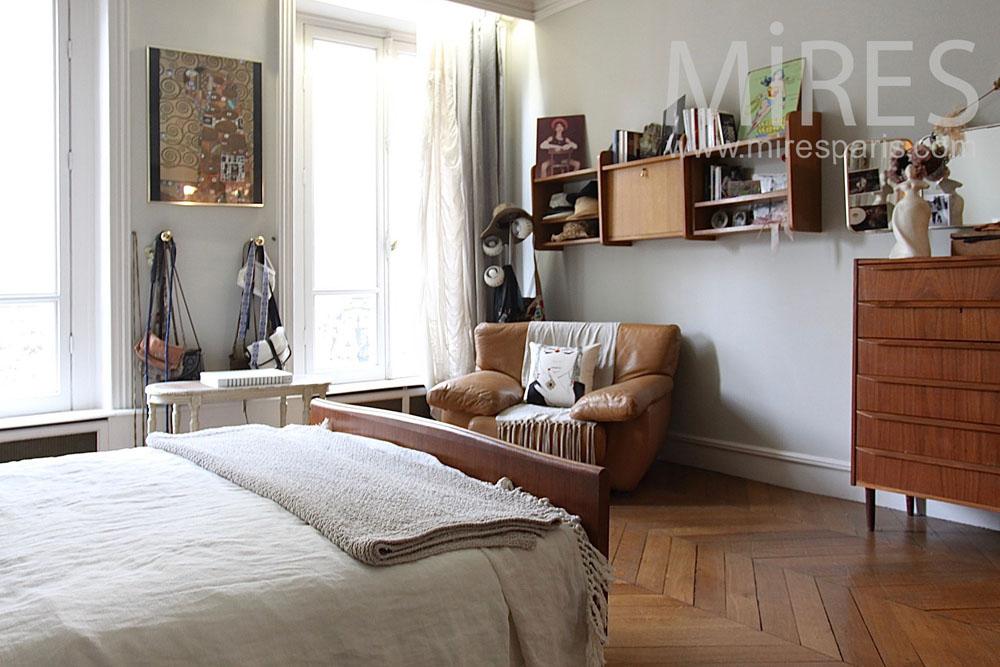 Chambre à coucher. C1422