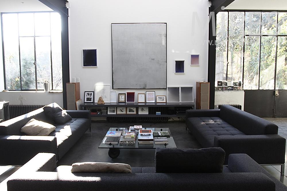 Grand salon géométrique. C1424