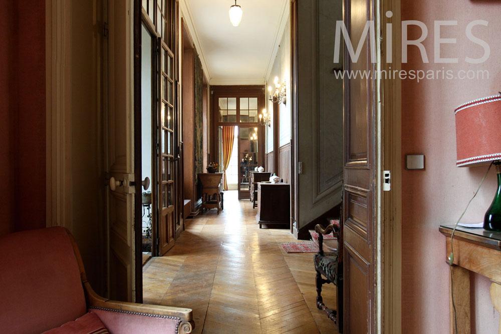 Couloirs et profondeurs des vues. C1435