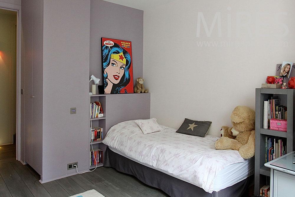 Pastel bedroom. C1442