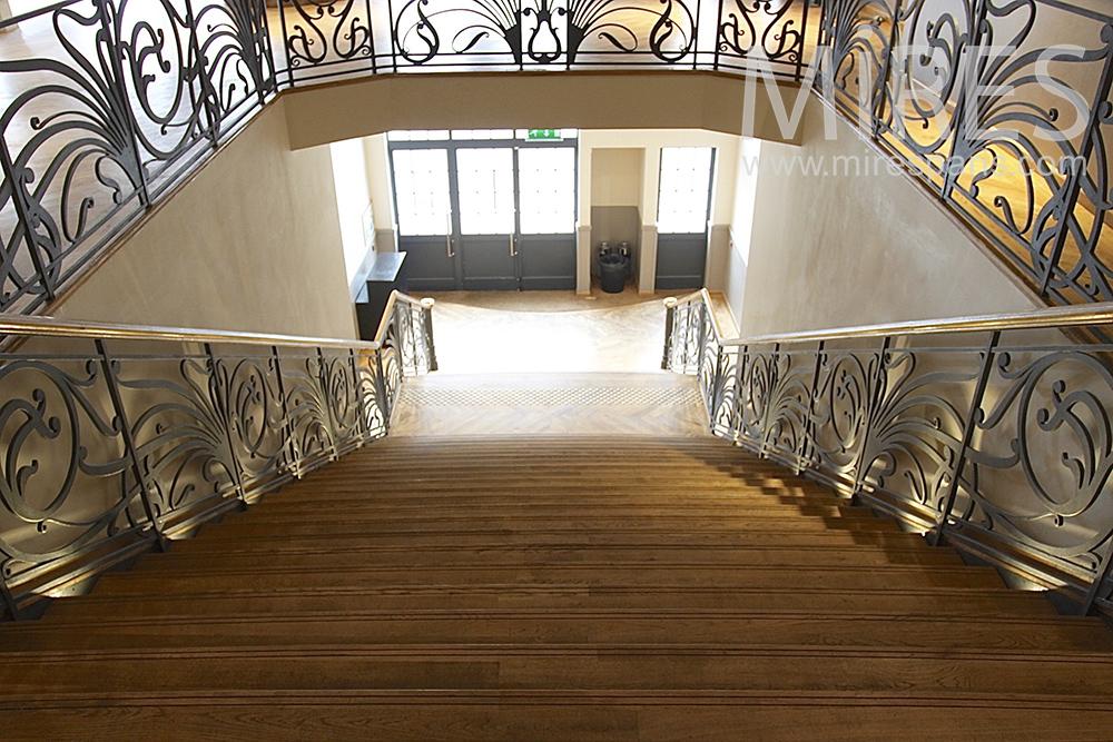 Grand escalier. C1445