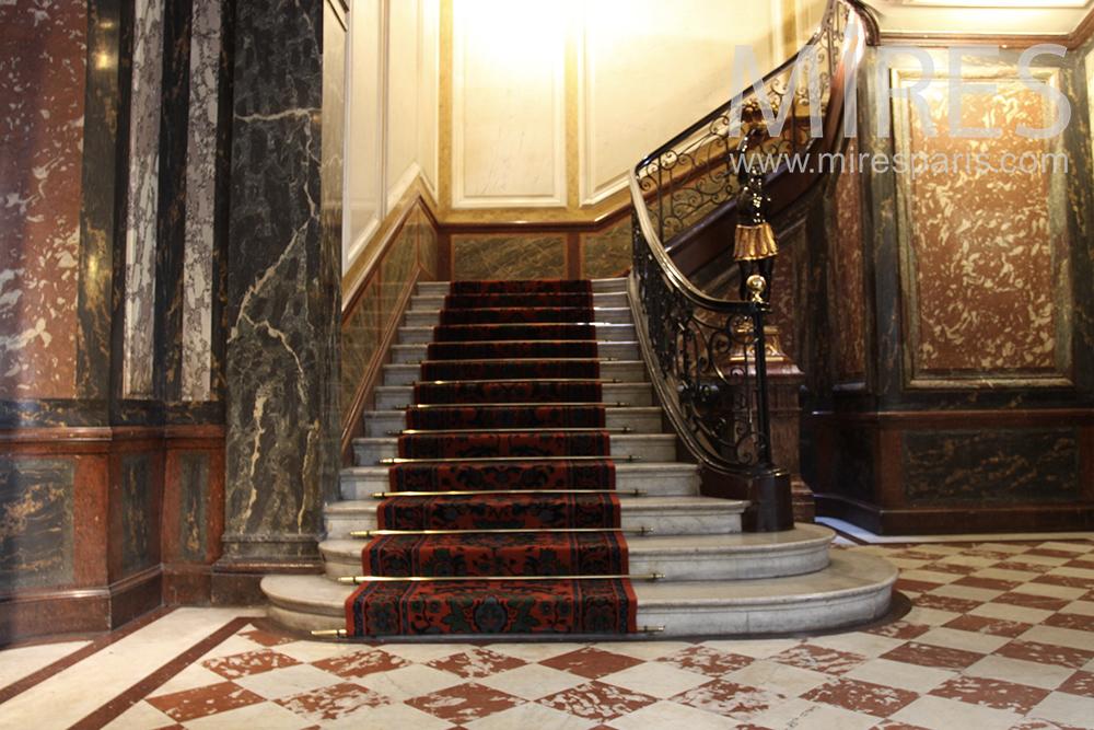 Escalier de prestige. C1452