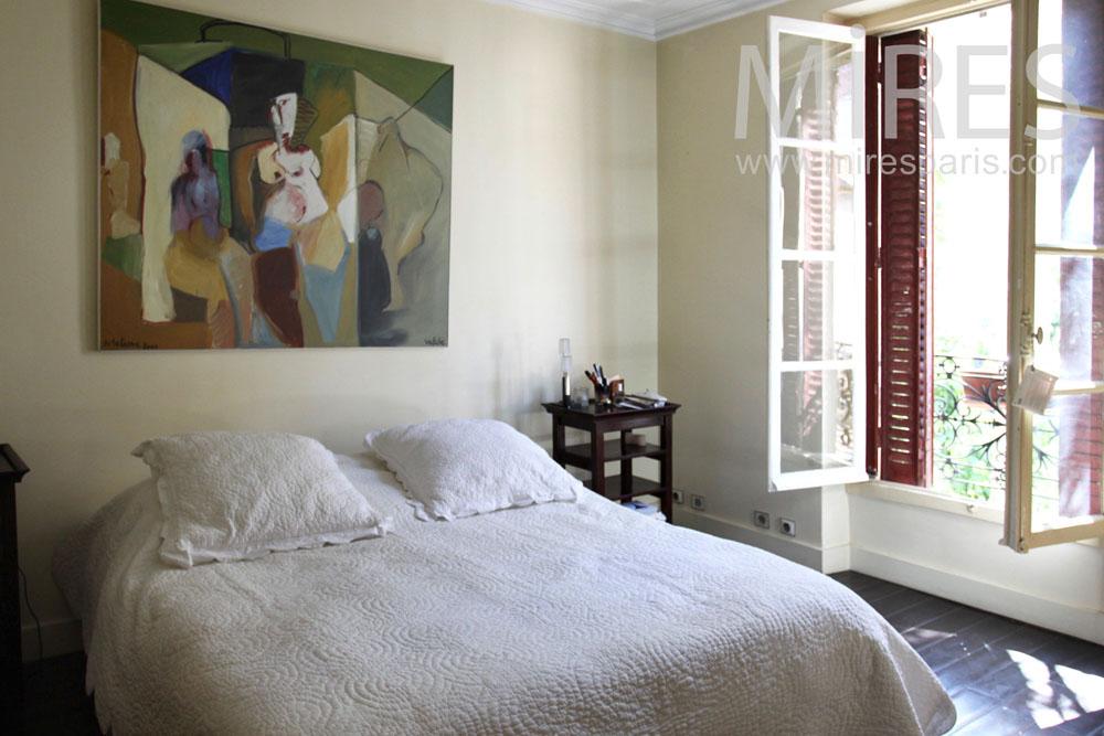 Parental bedroom with view. C0773