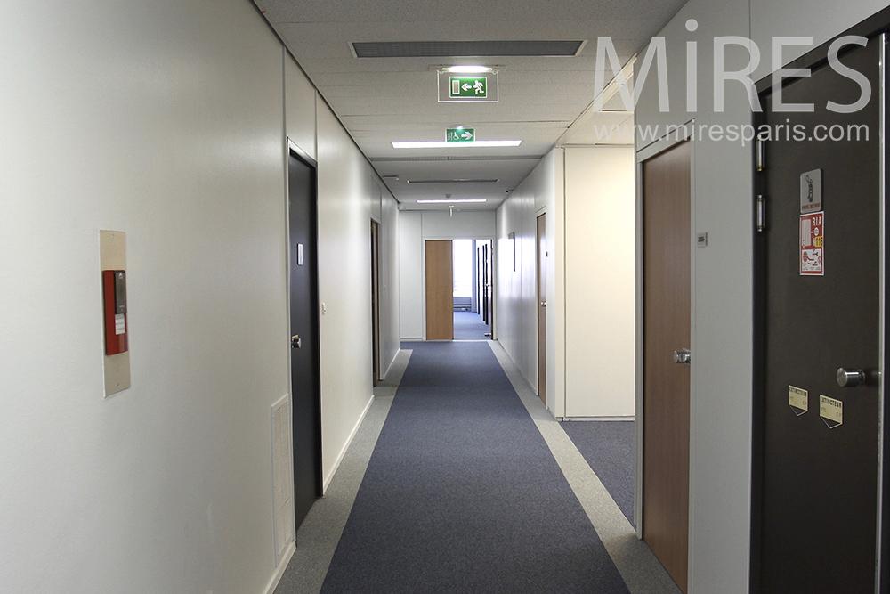 Collection de couloirs. C1457