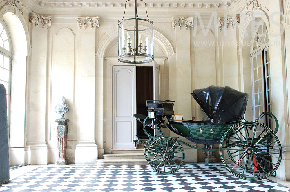 Entry and carriage. c1467
