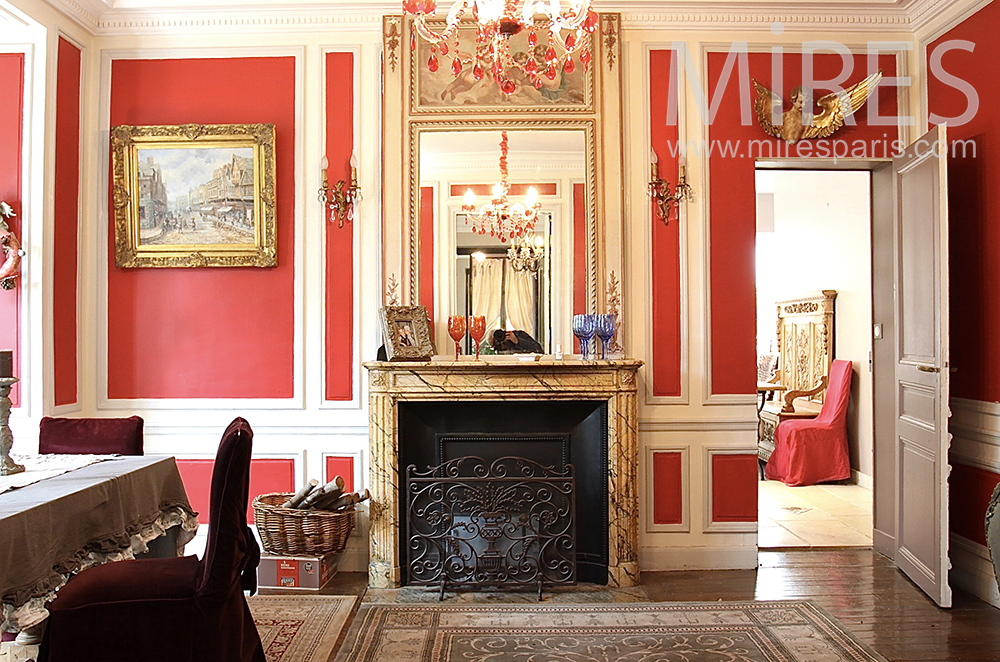 Red lounge. C1472