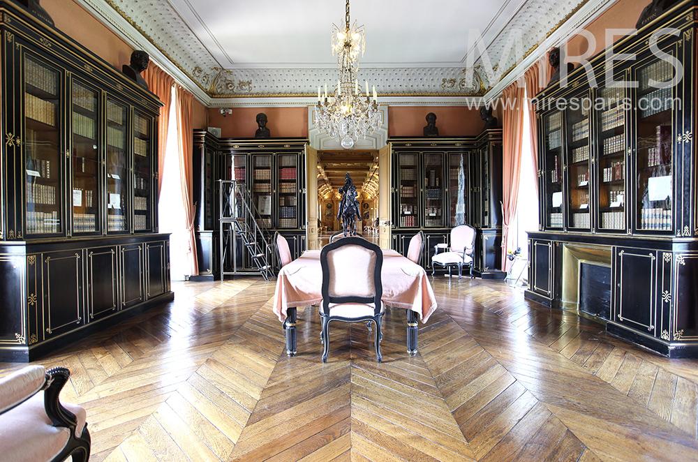 Salon littéraire. C1474