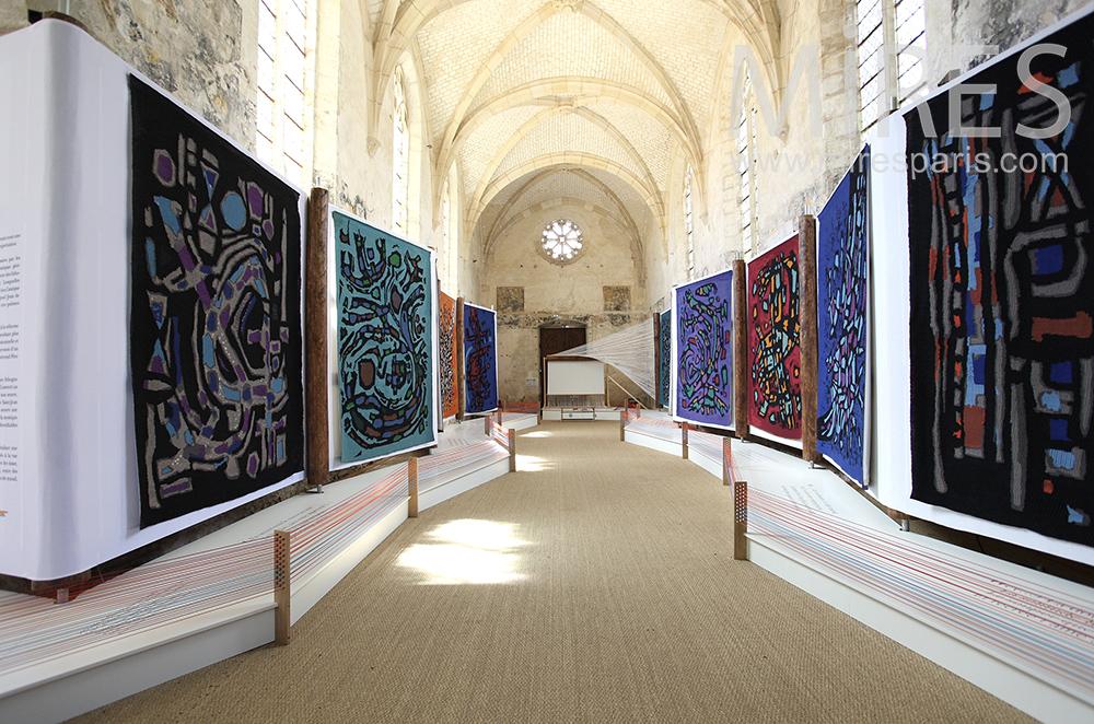 Chapelle et galerie d'art. C1474