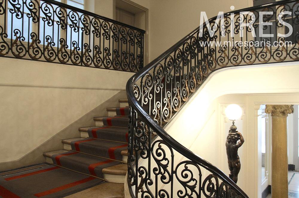Prestigious staircase. C1478