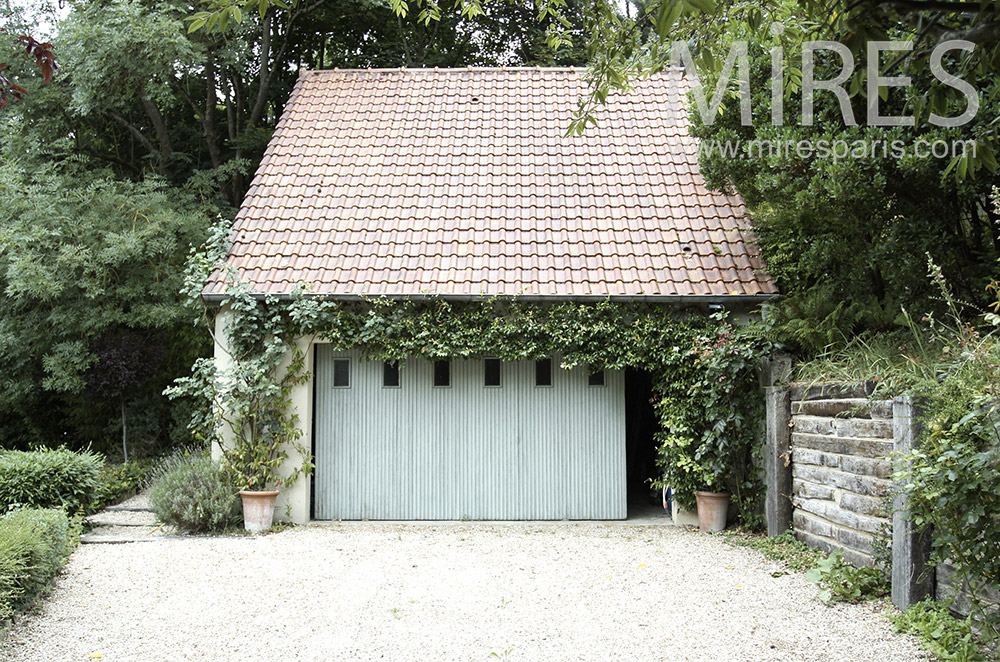 Garage de jardin. C1488