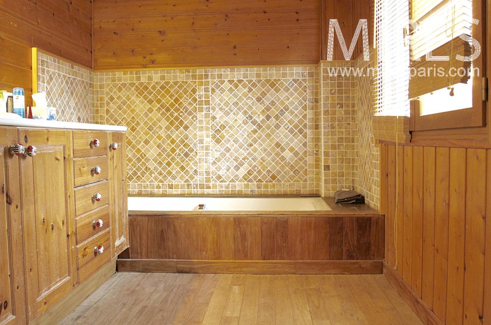 Baths of wood. C1489