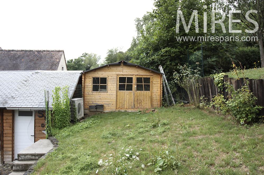 Cabane de jardin. C1489