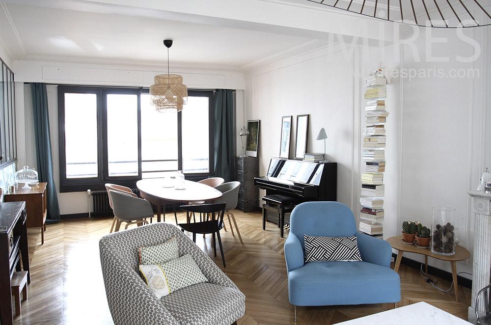 Agréable appartement familial avec terrasse. C1492