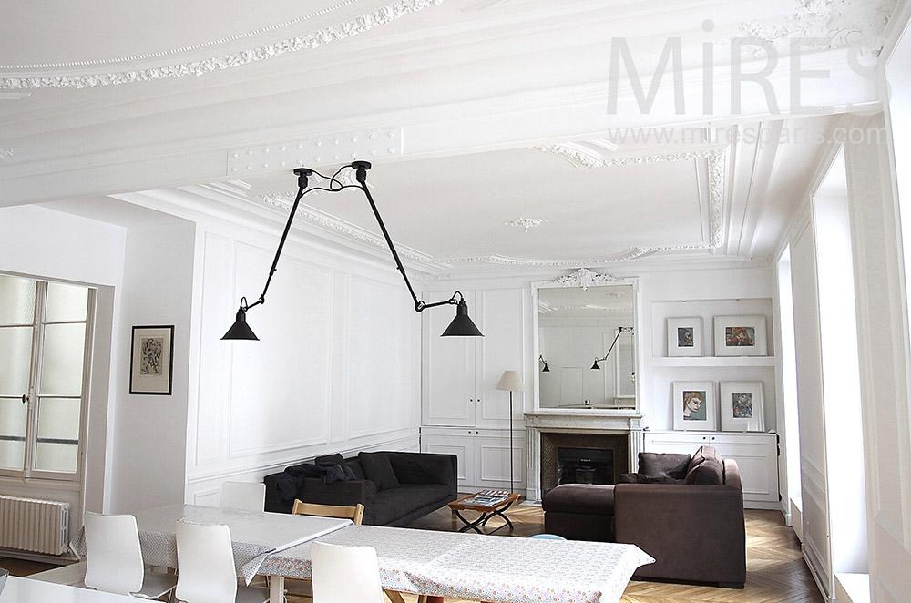 Appartement familial parisien. C1494