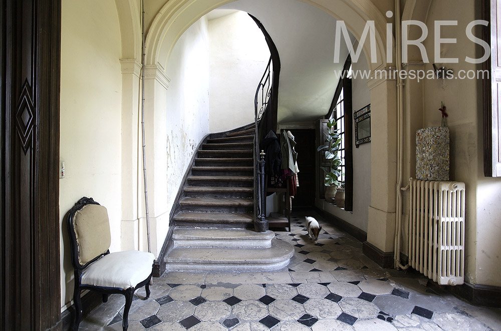 Staircase of yesteryear. C0028