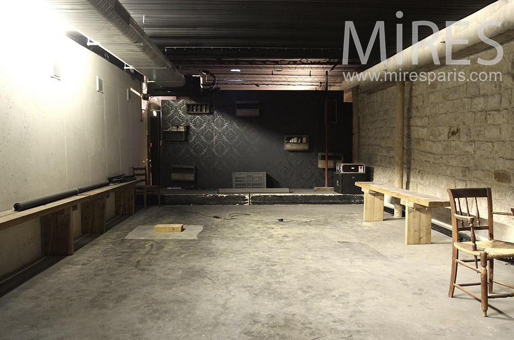 Pour tournage en sous-sol. C0410