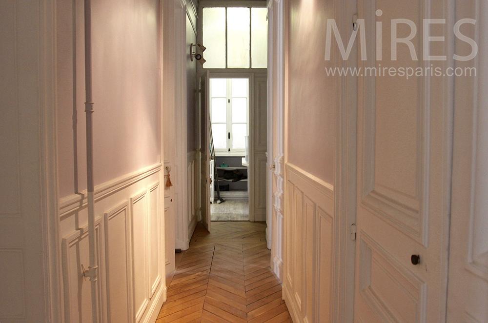 Quatre couloirs étroits. C0927