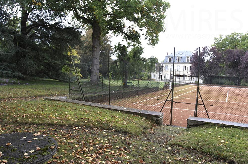 Tennis et nature. C1501