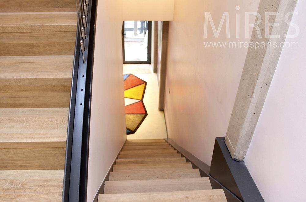 Appartement loft moderne c1504 mires paris - Huis loft ...