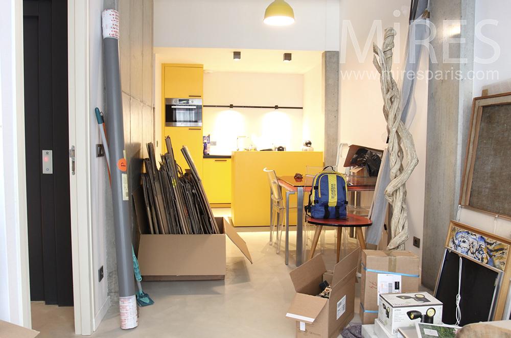 Storage cellar. C1504