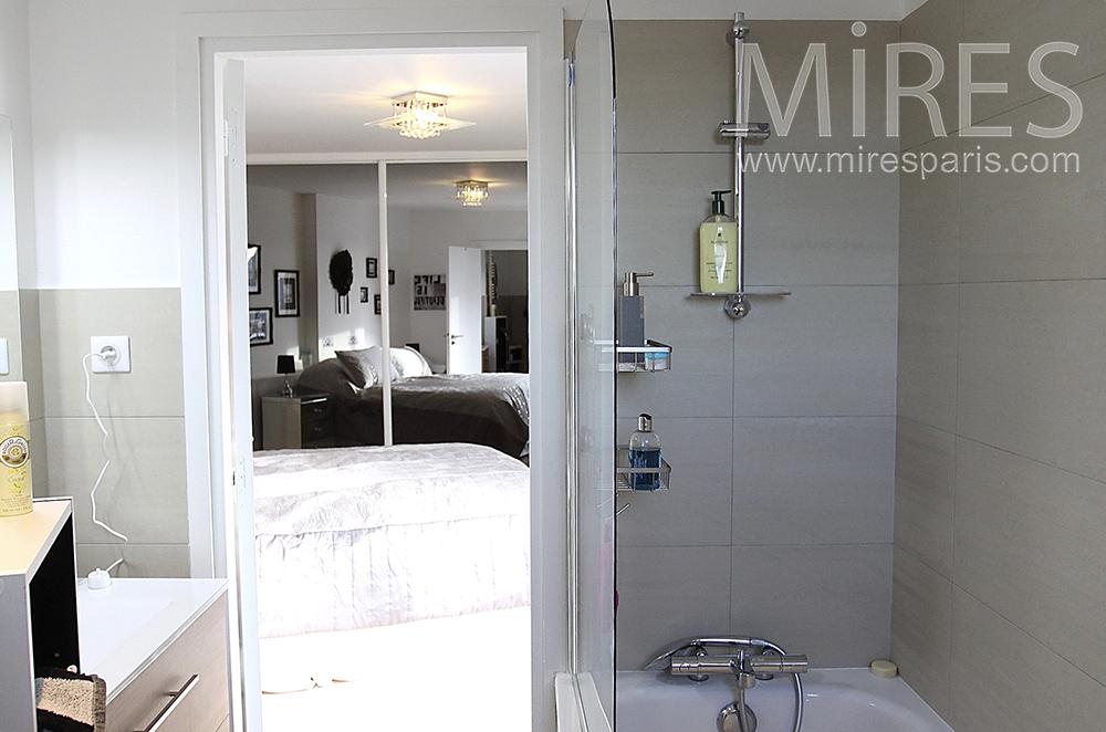 salle de bains compacte c1515 mires paris. Black Bedroom Furniture Sets. Home Design Ideas
