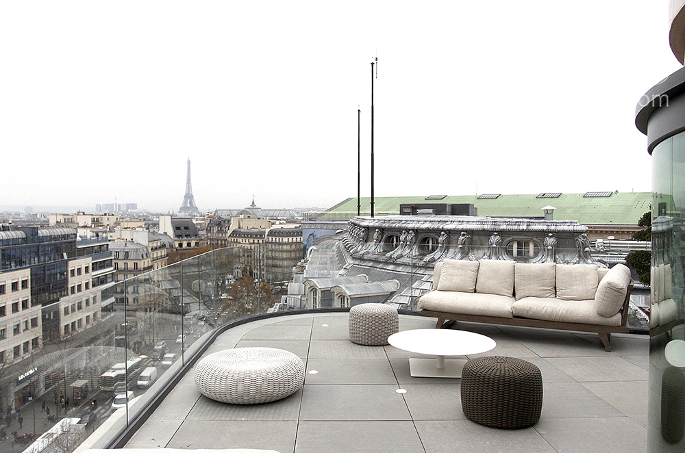 Appartement design sur rooftop. C1521