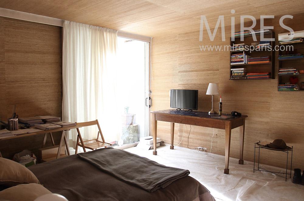 Chambre de bois. C1528