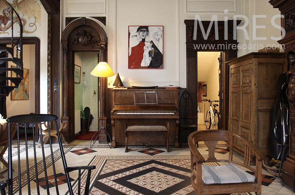 piano mires paris. Black Bedroom Furniture Sets. Home Design Ideas