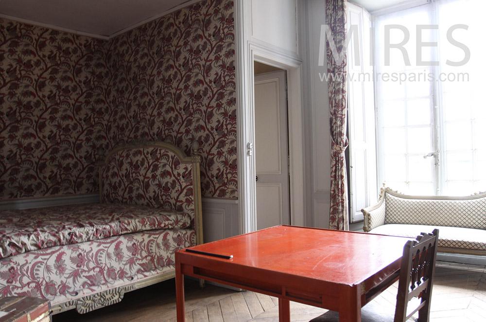 Chambre en alcôve. C1533