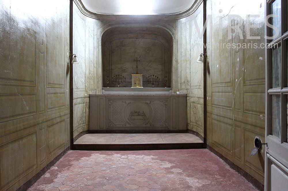Petite chapelle encastrée. C1533