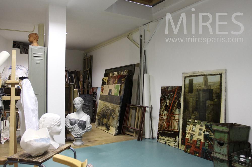 Atelier d'artiste. C1534