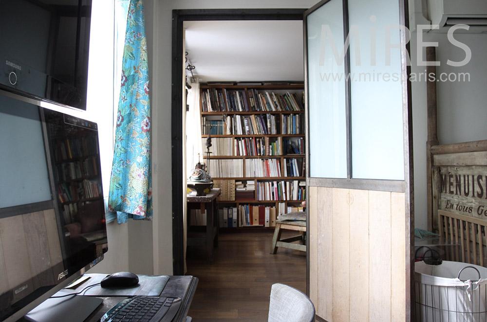 Chambre patiné et bureau moderne c mires paris