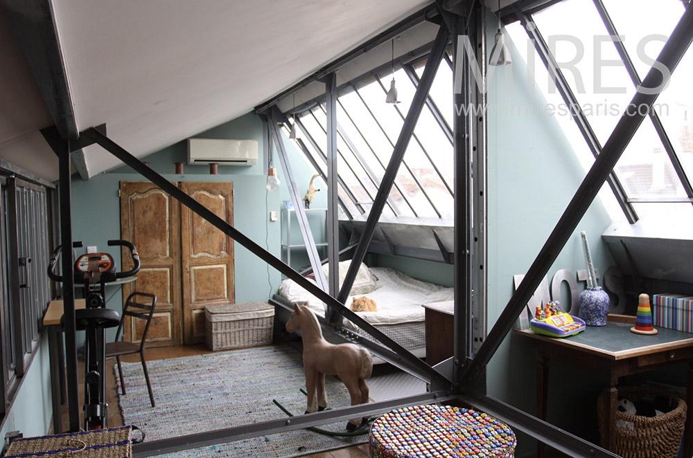 Nuit sous un toit de verre. C1534
